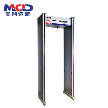 High- quality  6.0 Inch Screen of LCD Display Walk Through Metal Gate with Muti-Zone Alarm MCD600