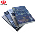 Softcover perfect binding book printing service