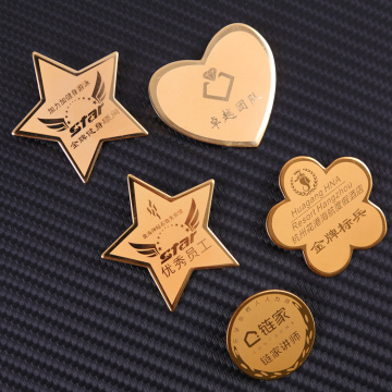 Factory wholesale metal badge