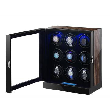 Watch Winder For 9 Watches With Japanese Motor