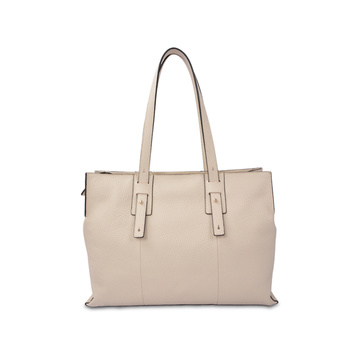 Pebble Italian Grain Leather Daily Women Bag