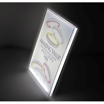 Tabletop acylic cover lightbox