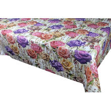 Pvc Type Elegant Tablecloth with Non woven backing