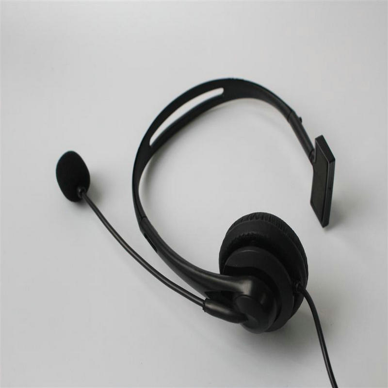Linhuipad 2.5mm jack Wired Manufacture Cheap Call Center Telephone Headset Noise Cancelling Unilateral earphone low cost headset