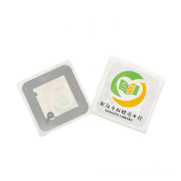 RFID HF White Library Tag Book Sticker Label