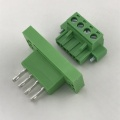 6pin panel mount plug-in terminal block