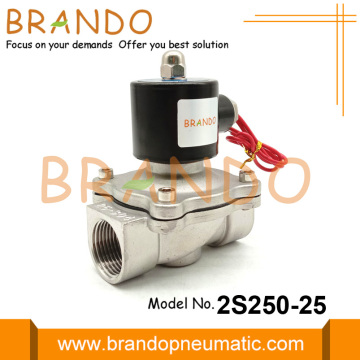 1 Inch 2S250-25 Stainless Steel Solenoid Valve 110VAC