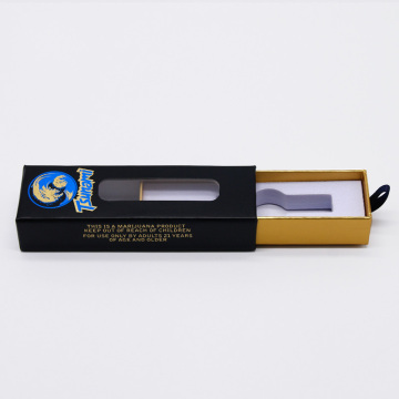 Customized eco-friendly paper gift packaging boxes for mod vape