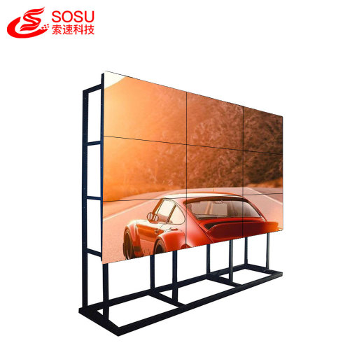 seamless lcd video wall with media player