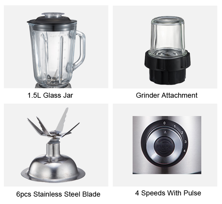 Blender With 6 Blades Was Cheap And Good