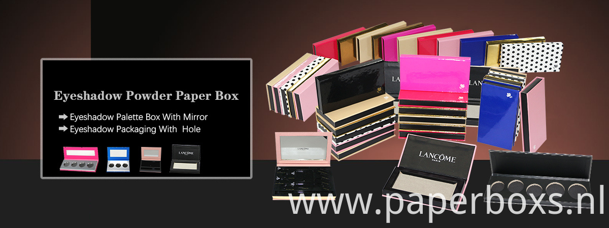 eyeshadow powder paper box
