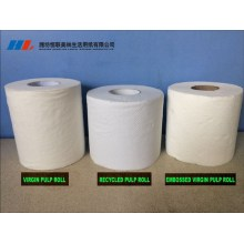 2/3/4 Ply OEM Design Recycled Pulp Toilet tissue