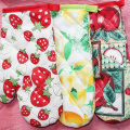 1PC Cotton Oven Glove Kitchen Microwave Oven Heat Resistant Mitts Random Color Cooking Bakeware Tools Bar Kitchen Accessories