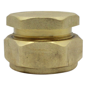 Brass Compression Stop End Cap