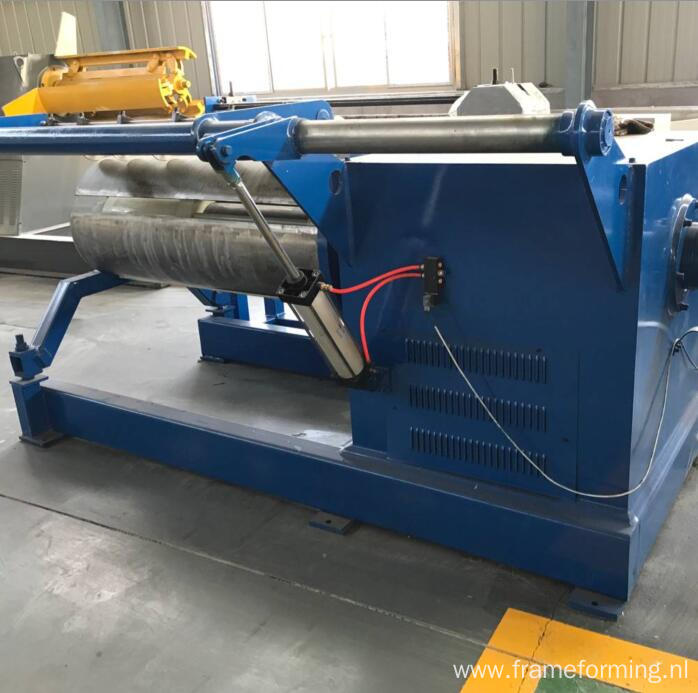 ZT manual and hydraulic decoiler 10 tons steel uncoiler machine