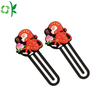 Animal Shape Silicone Bookmark for Promotion Gift