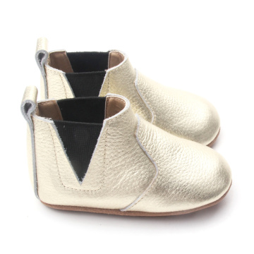 Gold Soft Sole Baby Casual Boots 2018
