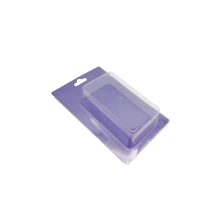 Custom rectangle blister sliding card plastic tray