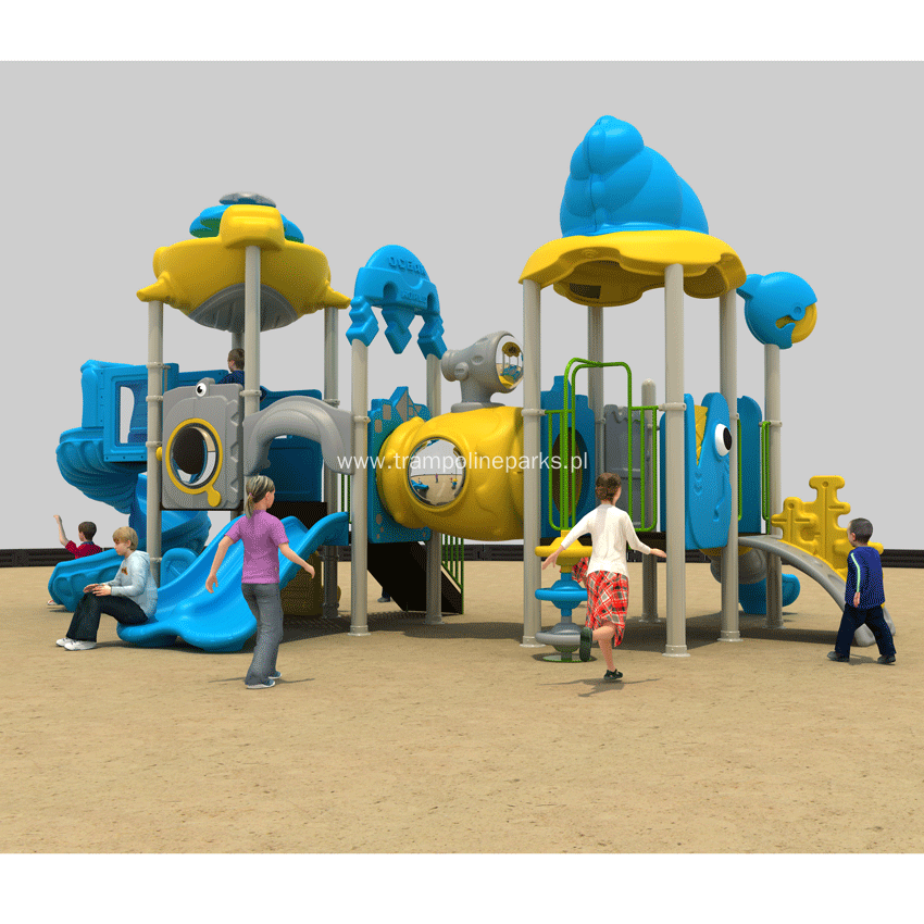 China Attractive Recreational Outdoor Playground Equipment
