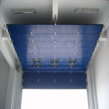 Overhead high speed sectional door