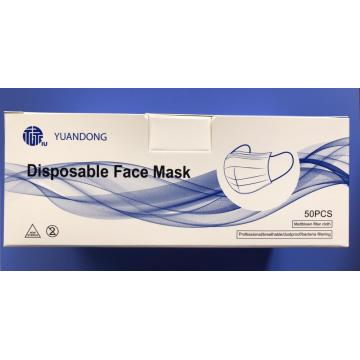 Face Mask 50 Pieces Each Box