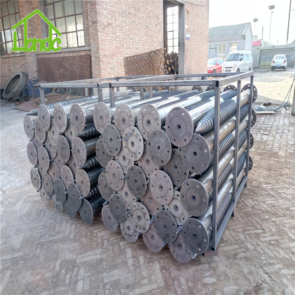 ground screw pile