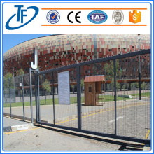 Top anti climb welded wire mesh security fence