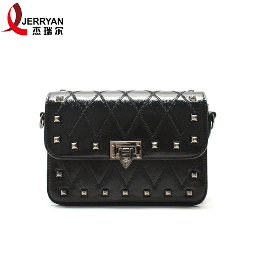 Hot Selling Black Leather Satchel Clutch Sale