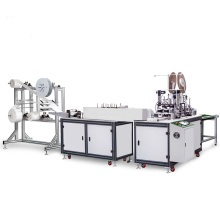 Automatic nonwoven face mask machine