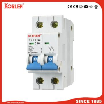 Miniature Circuit Breaker 4.5KA 63A 1P with CB