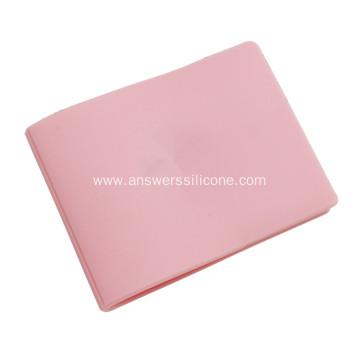 Custom silicone card holder adhesive for phone