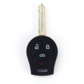 Small Nissan 4 Button Car Key Silicone Jacket