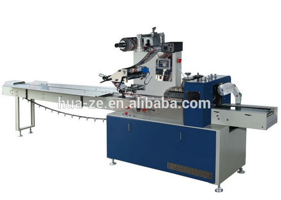 High quality cake/bread pillow packaging machine
