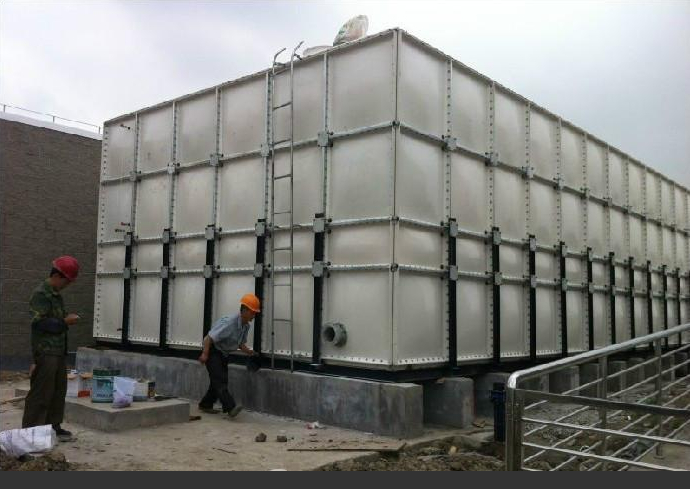 Large Capacity Simple Insallation FRP Water Tank