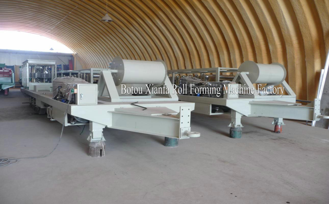roof tile Large Span Machine