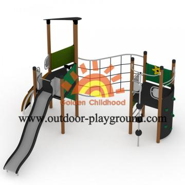 HPL Multiplayer Play Structures Backyard For Toddlers