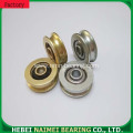 V 624zz groove track roller bearing guide wheel bearing