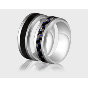 carbon fiber black color ring