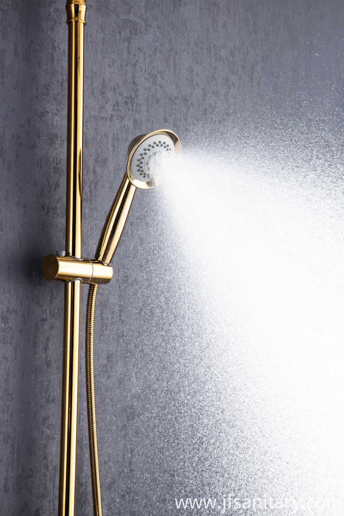 dual shower head with handheld