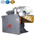 Small scrap aluminum induction foundry melting furnace
