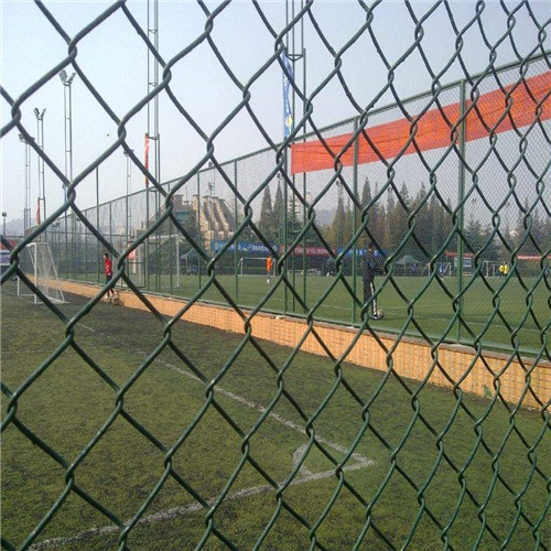 Chain link fence temporary netting