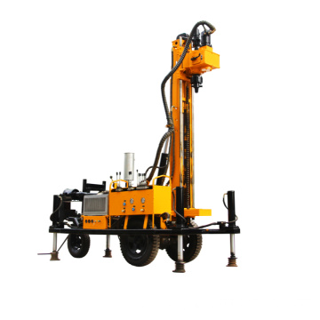 Pneumatic Crawler Type Drilling Rig