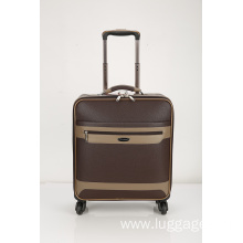Fashion PU contrast boarding luggage