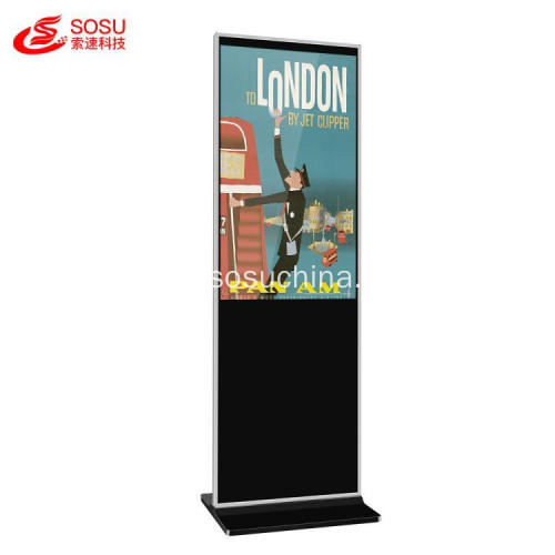 Smart Touch Screen Floor Stand Totem