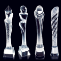 New Design Custom Crystal Trophy Prize Cup