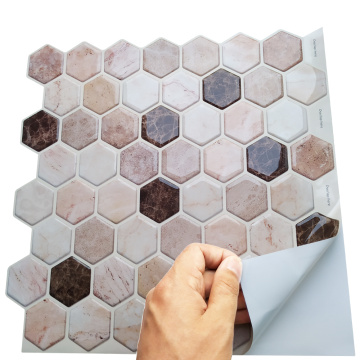 Vinyl Peel backsplash Kitchen Self Stick Tile