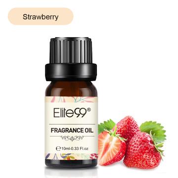 Elite99 Strawberry Fragrance Oil 10ml Peach Mango Fruit Pure Essential Oils For Aromatherapy Humidifier Freshing Air Aroma Oil