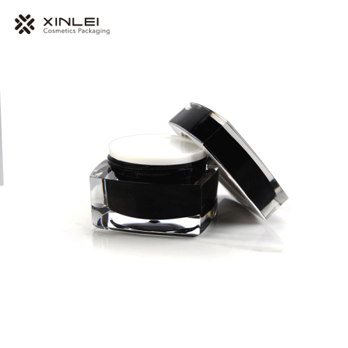15 g Innovative Square Shape Cosmetic Acrylic Jar
