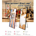 Indoor P2.5 LED Poster Video Advertising Mirror panel