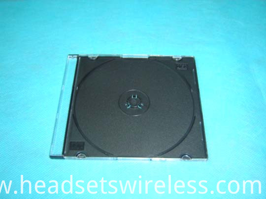 5 2mm Slim Cd Case With Black Tray